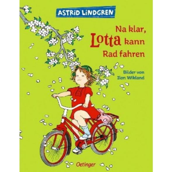 Na klar, Lotta kann radfahren!