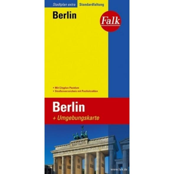 Falk Stadtplan Extra Standardfaltung Berlin