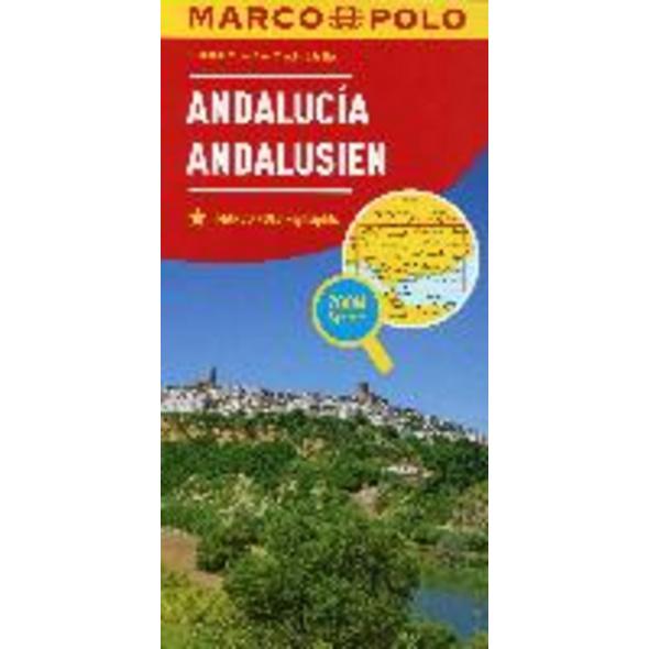 MARCO POLO Karte Spanien Andalusien 1:300 000