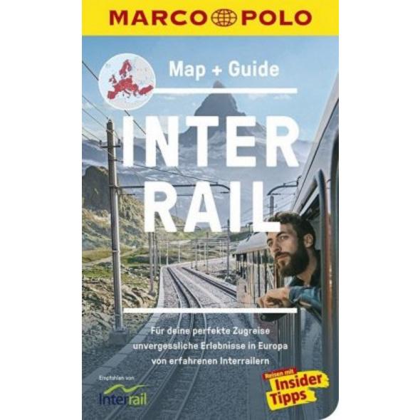 MARCO POLO Interrail Map   Guide