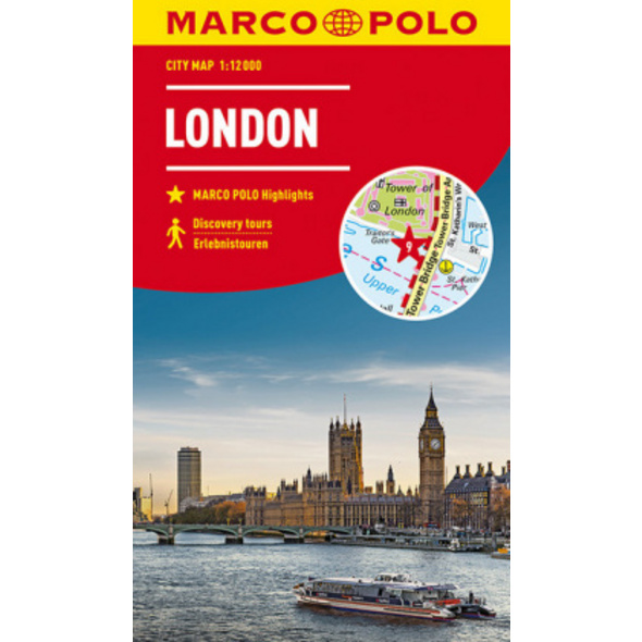 MARCO POLO Cityplan London 1:12 000