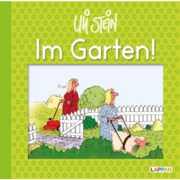 Im Garten!