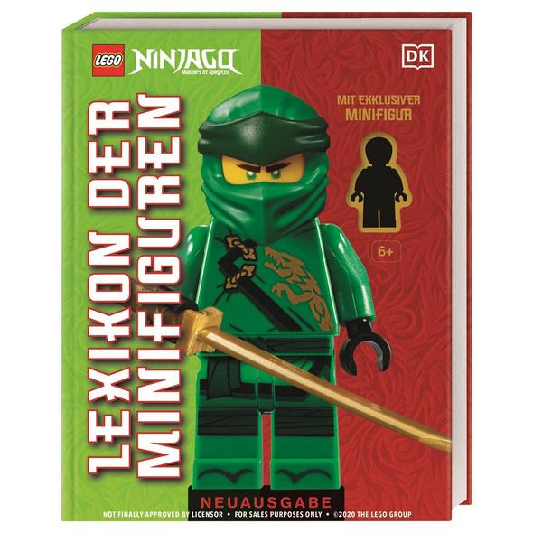 LEGO  NINJAGO  Lexikon der Minifiguren. Neuausgabe