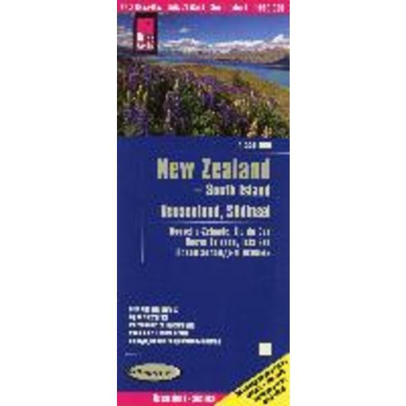 Reise Know-How Landkarte Neuseeland, Südinsel 1:55
