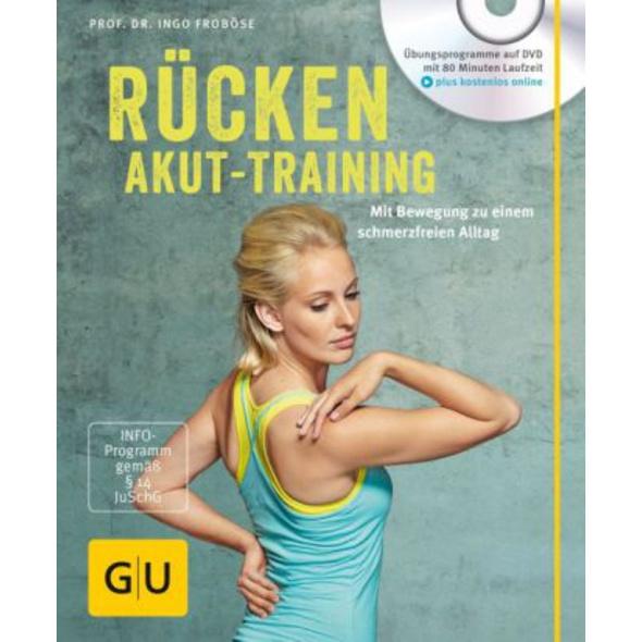Rücken-Akut-Training  mit DVD