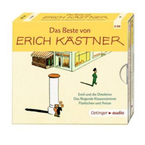 Das Beste von Erich Kästner  3 CD