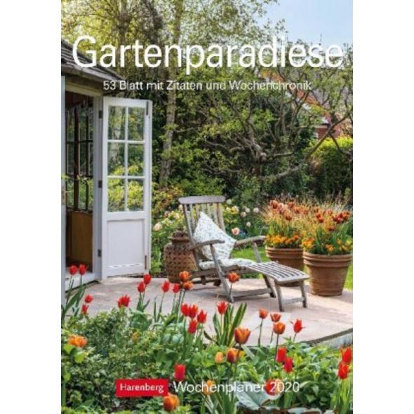 Gartenparadiese 2020 Wochenplaner