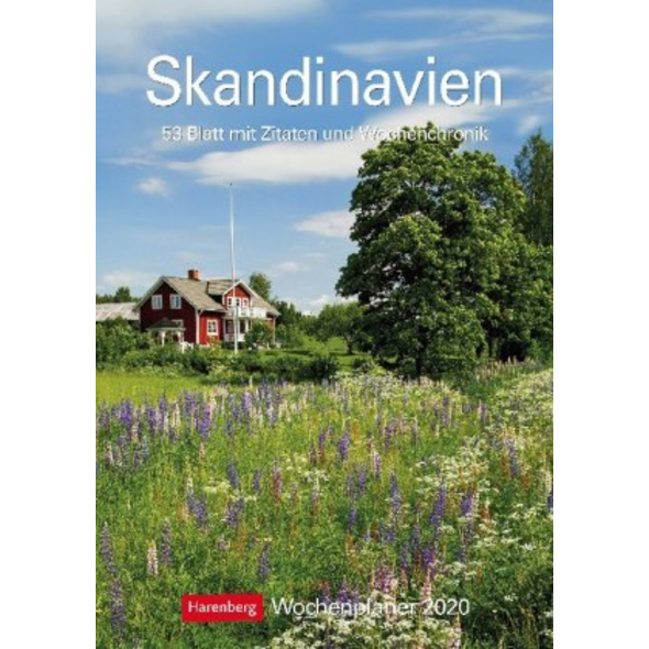 Skandinavien 2020 Wochenplaner