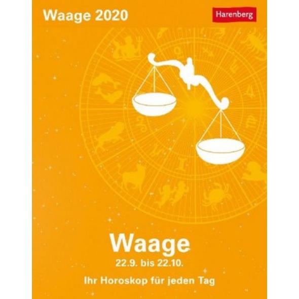 Sternzeichenkalender Waage 2020