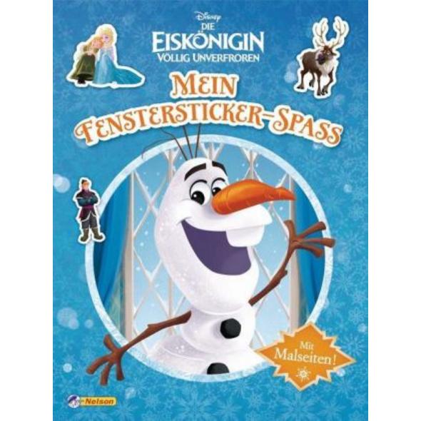 Disney Eiskönigin: Mein Fenstersticker-Spaß