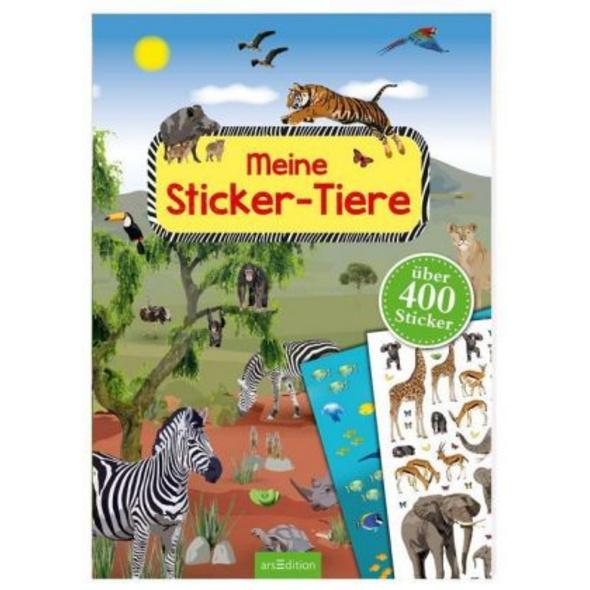 Meine Sticker-Tiere