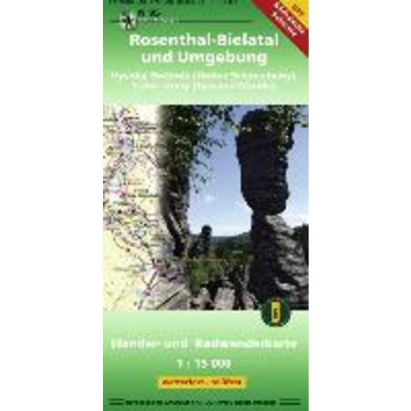 Rosenthal-Bielatal und Umgebung 1 : 15 000