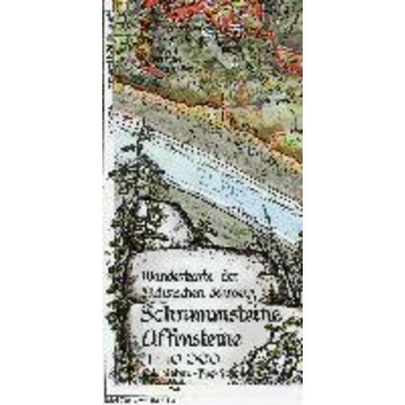 Schrammsteine Affensteine 1 : 10 000