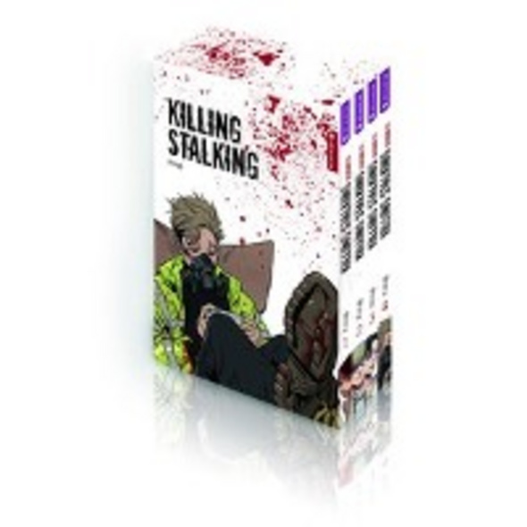 Killing Stalking Season II Complete Box  4 Bände