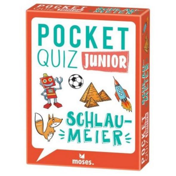 Pocket Quiz junior Schlaumeier