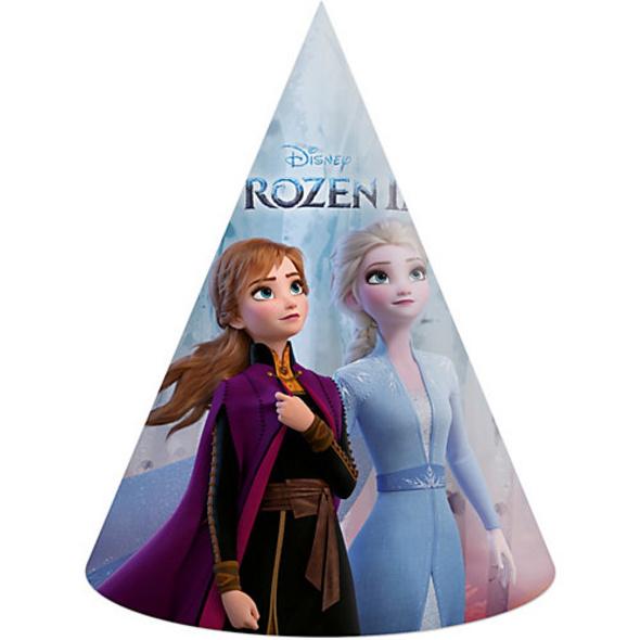 Partyhüte Disney Die Eiskönigin 2, 6 Stück