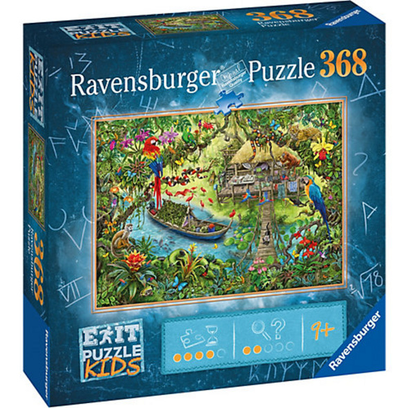 Puzzle EXIT KIDS Dschungelsafari, 368 Teile