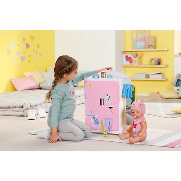 BABY born® 827987 Schrank mit Wetterente