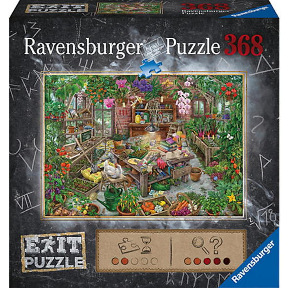 Puzzle Exit - Im Gewächshaus, 368 Teile