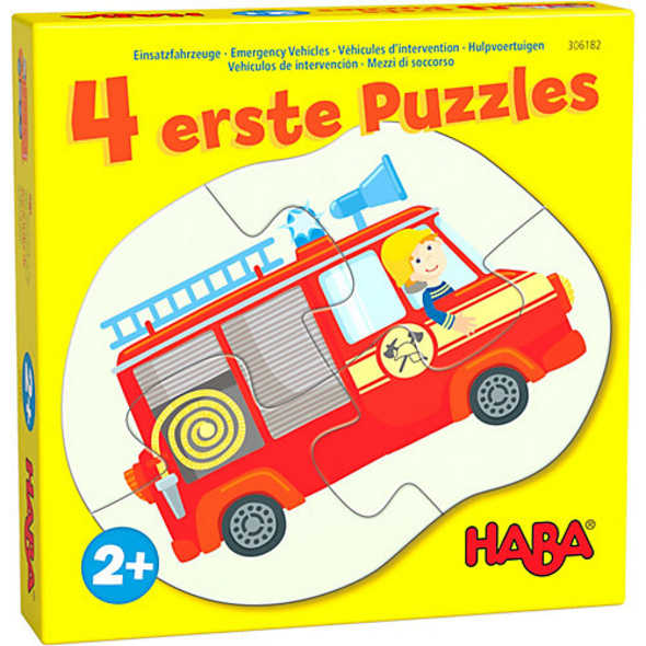 4 erste Puzzles – Einsatzfahrzeuge