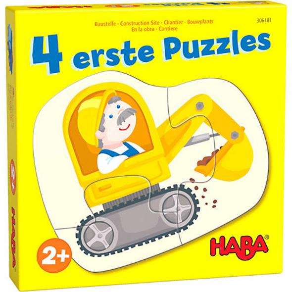 4 erste Puzzles – Baustelle