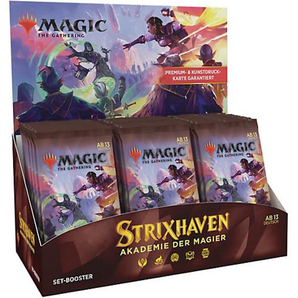 Magic the Gathering Strixhaven Set Booster DE