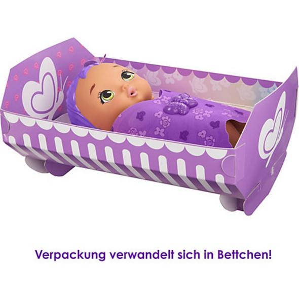 My Garden Baby Schmetterlings-Baby Puppe (lilafarbenes Haar)