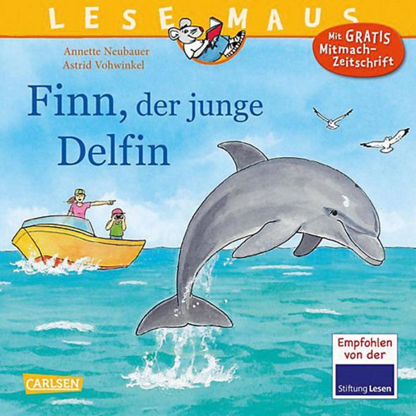 Lesemaus: Finn, der junge Delfin