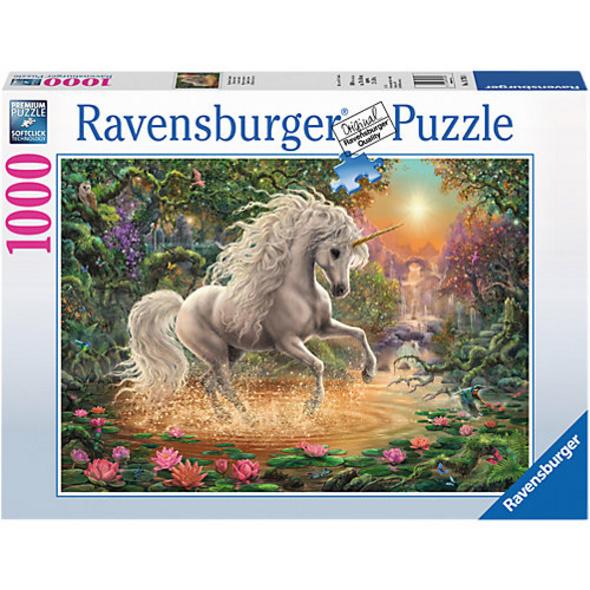 Puzzle 1000 Teile, 70x50 cm, Mystisches Einhorn