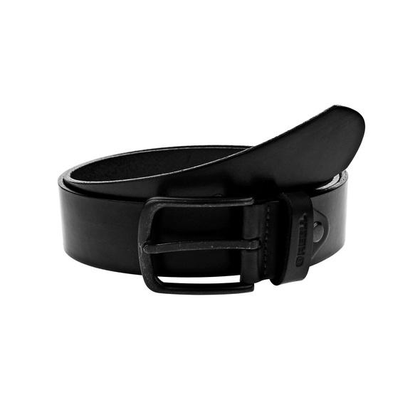 All Black Buckle Belt