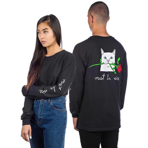 Romantic Nerm Long Sleeve T-Shirt