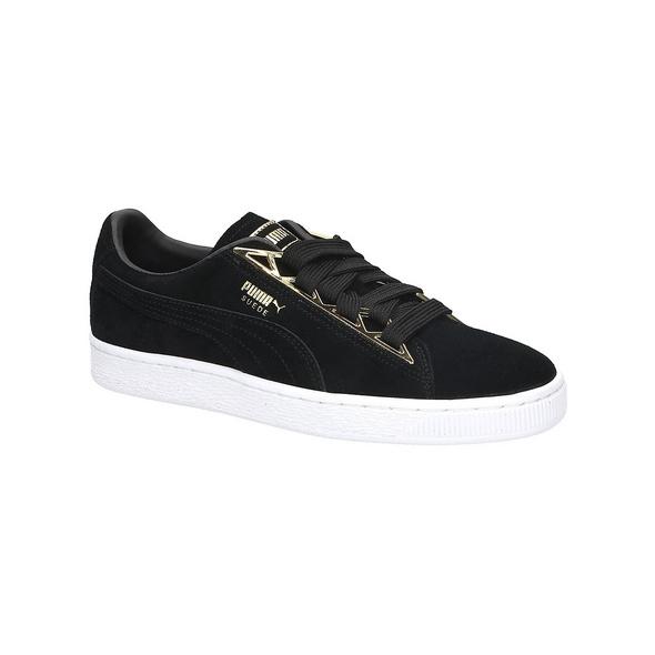 Suede Jewel Metalic Sneakers