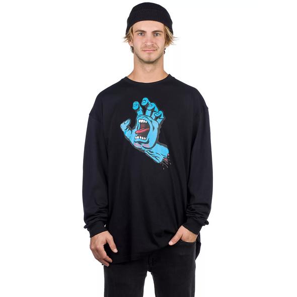 Screaming Hand Long Sleeve T-Shirt