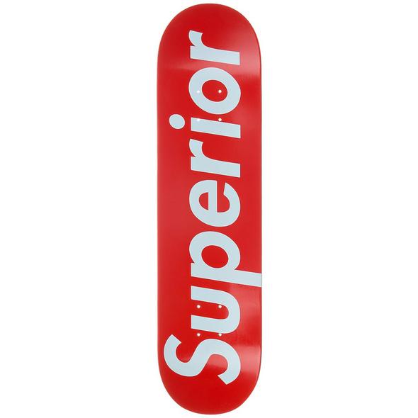 """Supreme Knockoff 8.0"""" Skateboard Deck"""