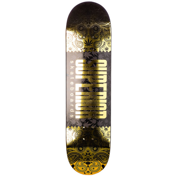 "Foil Hits 8.25"" Skateboard Deck"