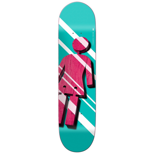 "Mike Carroll 8.375"" Skateboard Deck"