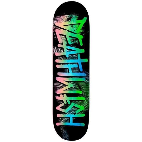 "Deathspray Fish Net 8.0"" Skateboard Dec Deck"
