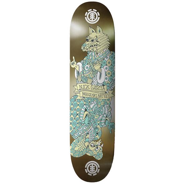 "Siamese Nick Julian 8.25"" Skate Deck"