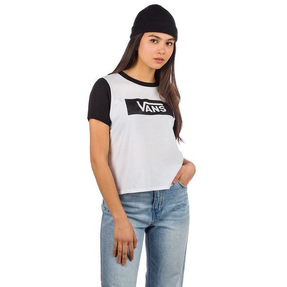 V Tangle Range Ringer T-Shirt