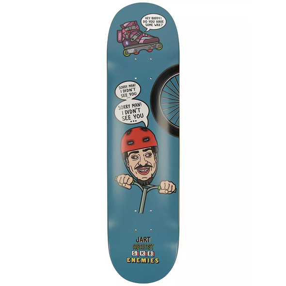 Against Sk8 Enemies 7.87 Skateboard Deck