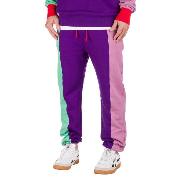 Color Block Jogging Pants