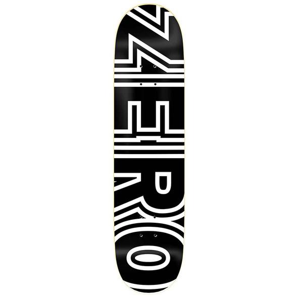 "Bold Black 8.25"" Skateboard Deck"