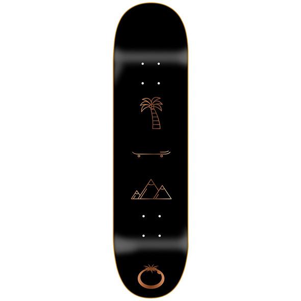 "All You Need Bronze 8.0"" Skateboard Deck"
