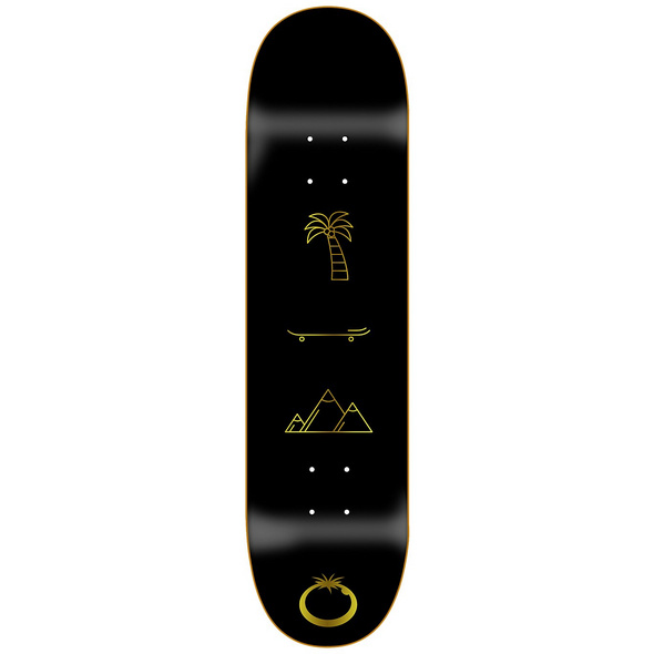 "All You Need Gold 8.25"" Skateboard Deck"