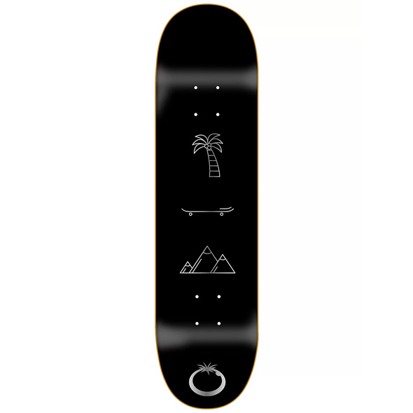 """All You Need Silver 8.5"""" Skateboard Deck"""