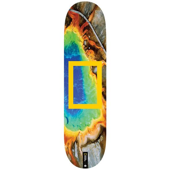 "Nat Geo Prisma 8.25"" Skateboard Deck"