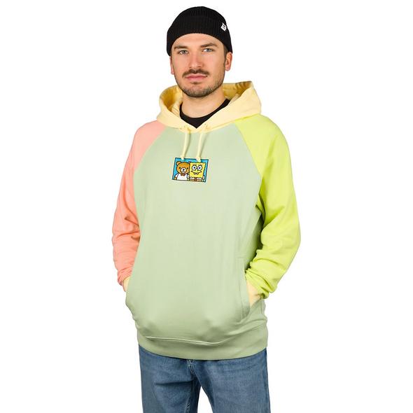 X Spongebob Color Block Hoodie