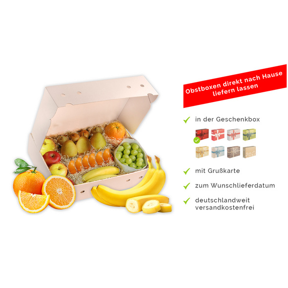 Home-Office-Obstbox, groß