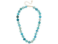 Kette - Turquoise Agate