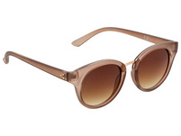 Sonnenbrille - Brown Oval Glass